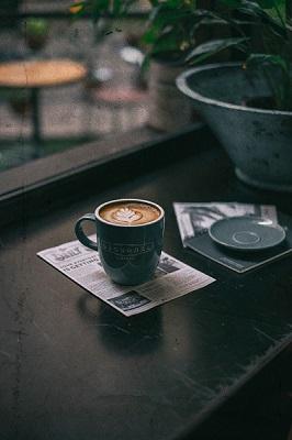 Pausen machen und Kaffee trinken kann man zum Glück wundervoll miteinander verbinden ;)
