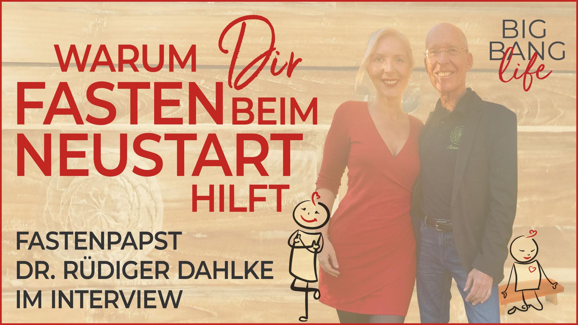 Rüdiger Dahlke Interview Fasten Neustart